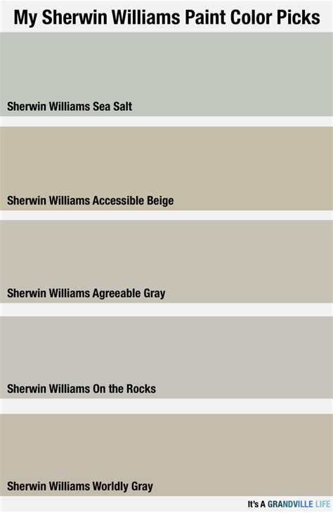sherwin williams comparison page 2 paint talk it s a grandville life sherwin williams paint picks for