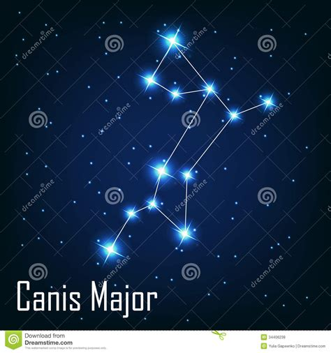 Tiny Plans by The Constellation Canis Major Star In The Night Royalty