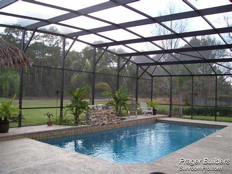Lake Mary Florida Pool Screen Enclosure. Prager Builders