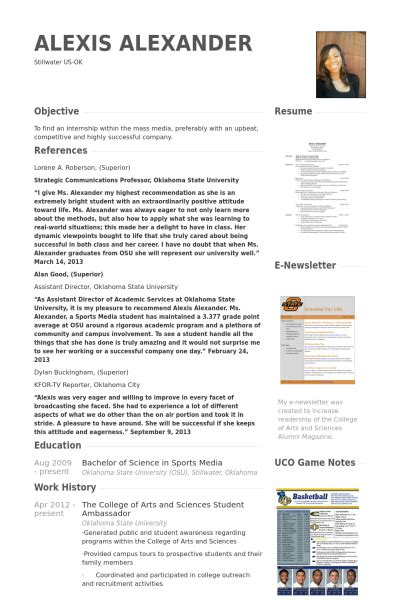 resume for arts student mba cv beispiel visualcv lebenslauf muster datenbank