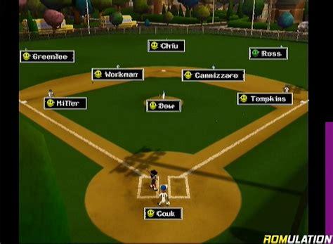 backyard baseball 2009 usa nintendo wii iso