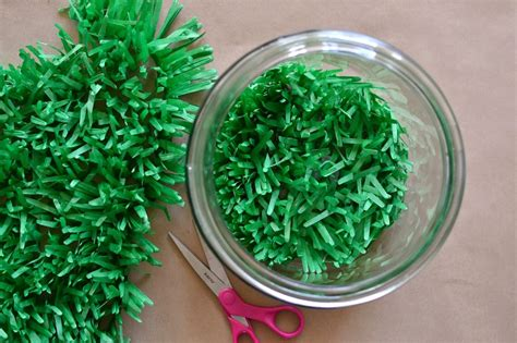How To Make Paper Grass - s day gift in a jar easy diy mothers day gift