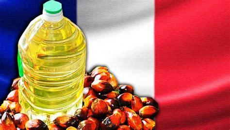 Minyak Kelapa Masak perancis sekat minyak sawit malaysia ugut akan bertindak