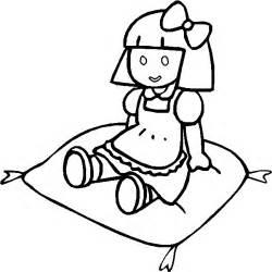 coloring doll free toys coloring pages