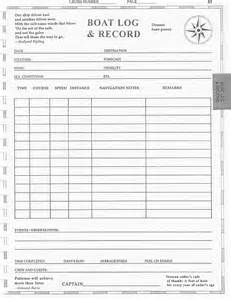 Ship Log Book Template by Captain Emergency Coloring Pages