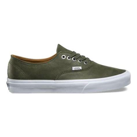 Vans Authentic Grey Premium premium leather authentic decon shop shoes at vans
