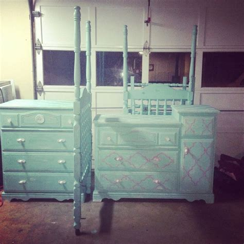 chalk paint shabby chic diy diy refurbish furniture baby furniture turquoise chalk