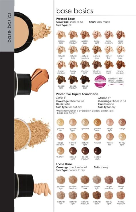 glominerals pressed base honey light 17 best images about foundations on pinterest colour