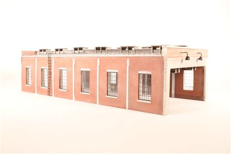 Bachmann 4 Road Engine Shed by Hattons Co Uk Bachmann Branchline 44 0033 Brick Built