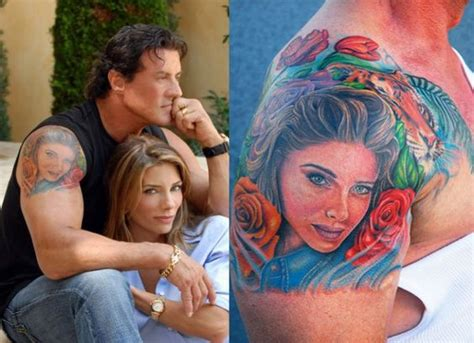 does sylvester stallone have tattoos sylvester stallone buscar con quot my papi