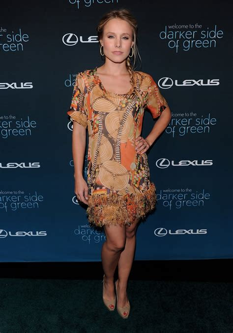 Get Look Kristen Bells Behnaz Sarafpour Dress 2 by Kristen Bell Day Dress Dresses Skirts Lookbook
