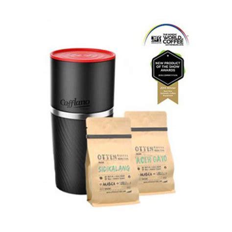 cafflano klassic coffee maker black otten coffee jual mesin grinder alat kopi