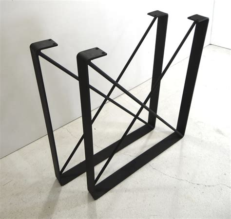 diy u shaped table legs set of 2 metal dining table legs u shaped