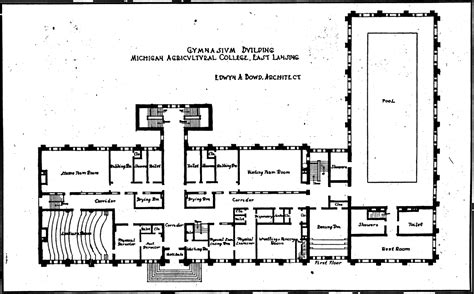 Dorm Room Floor Plan by History Kinesiology Department College Of Education