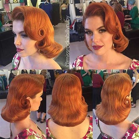 Fashioned Pin Up Hairstyles by 21 Pin Up Hairstyles That Are Right Now Stayglam