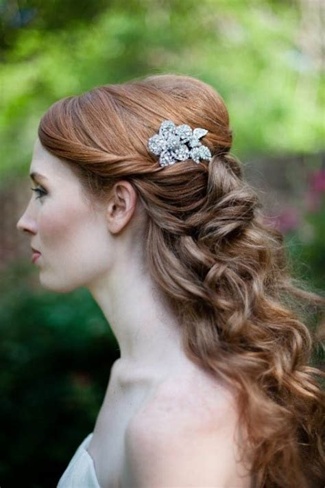 vintage hairstyles for weddings long vintage wedding hairstyle the latest trends in