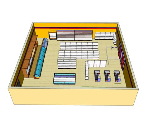 design your own store layout