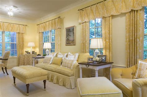 Traditional Living Room Curtains Bright Valance Curtains In Living Room Traditional With Living Room Valance Next To Gold Sofa