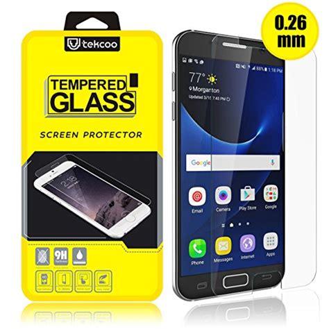 Galaxy J7 Tempered Glass 026 Mm 25d 9h Kode Df2283 samsung galaxy s7 screen protector tempered glass ultra 0 26mm thin hd clear premium anti