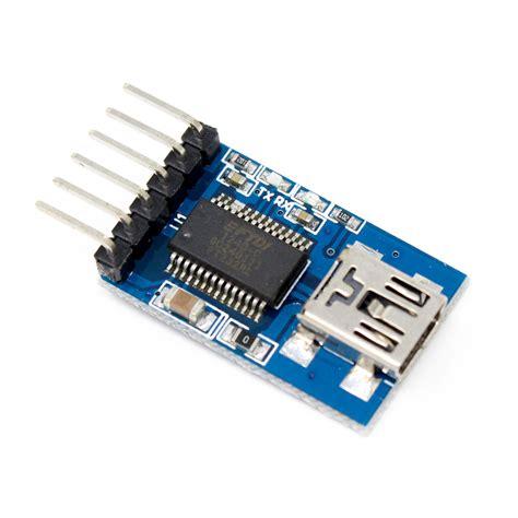 Ftdi Ft232rl Usb To Ttl 5v 3 3v ttl ftdi transmitter usb for 3 3v 5v dual power ft232rl