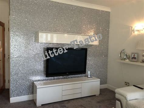 glitter wallpaper feature wall glitter wallpaper dying wallpaper pinterest tvs