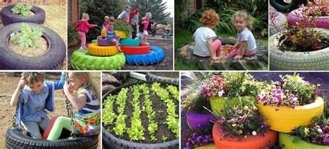 imagenes de jardines escolares reciclaje sobre ruedas 5 grandes ideas para darle nueva