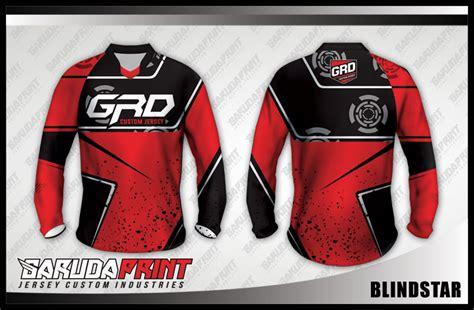 desain jersey merah konveksi kaos jersey sepeda gradasi warna terbaik garuda
