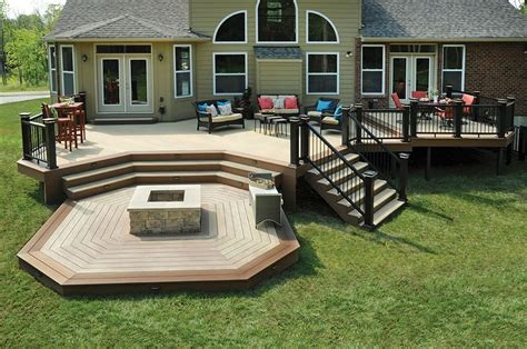 Deck Ideas Deck Design Ideas Outdoor Living Ideas Azek Deck Patio Design Pictures