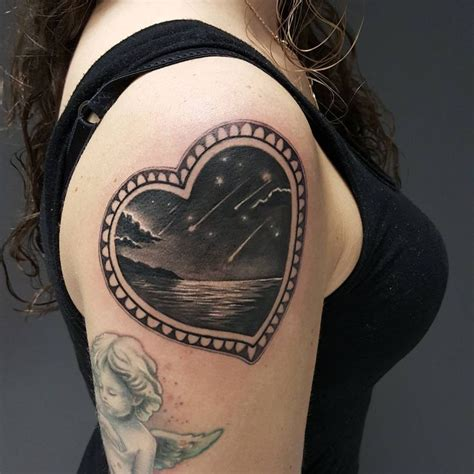 fallen star tattoo 42 best shaped tattoos images on