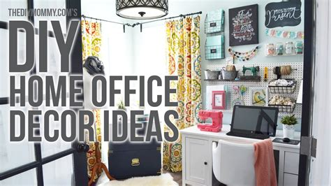 officer home decor craft room home office tour 3 easy diy office decor ideas