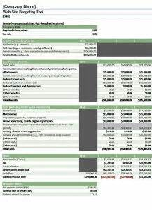 Semi Monthly Home Budget Template Is Best Suited For A Person Who Bet Paid Twice In One Month E Commerce Faq Template