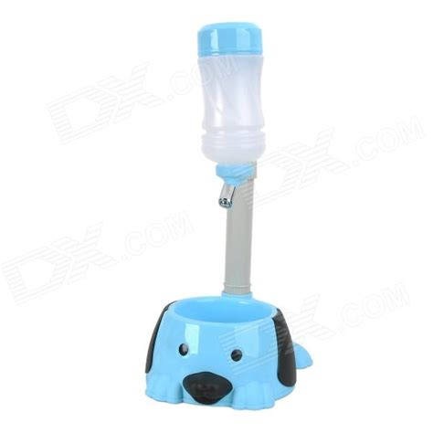 Water Dispenser For Dogs pole adjustable pet cat water dispenser food bowl