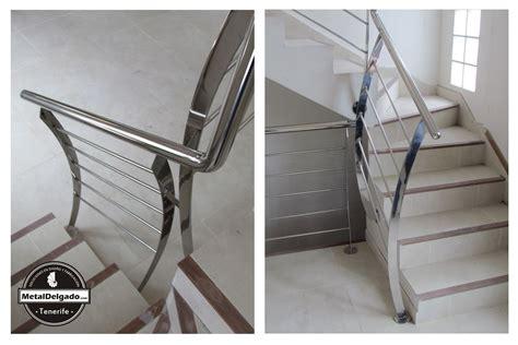 barandilla para escalera acero inoxidable tenerife barandas acero inoxidable para