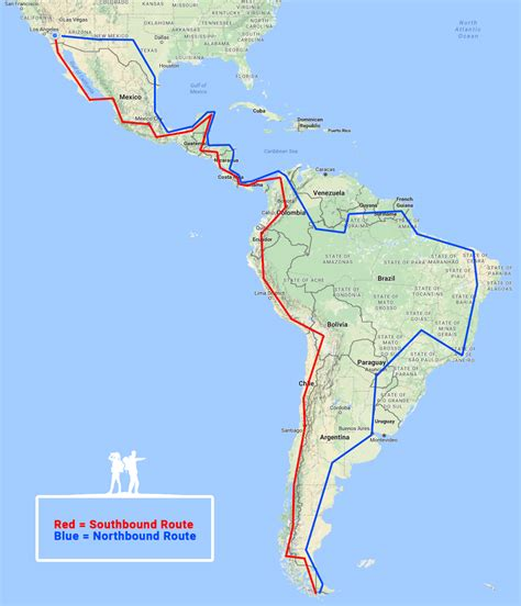 map of the pan american highway lost for days overlanding the pan american highway