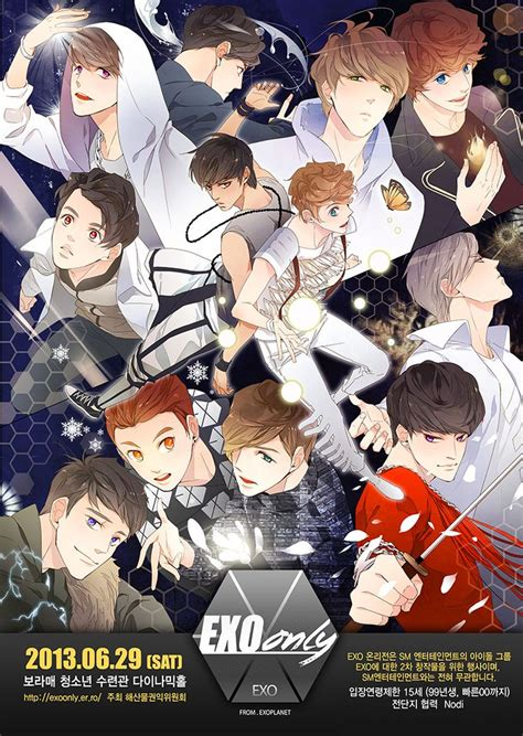 exo anime 116 best ㅌxㅇ fanart images on pinterest fanart exo