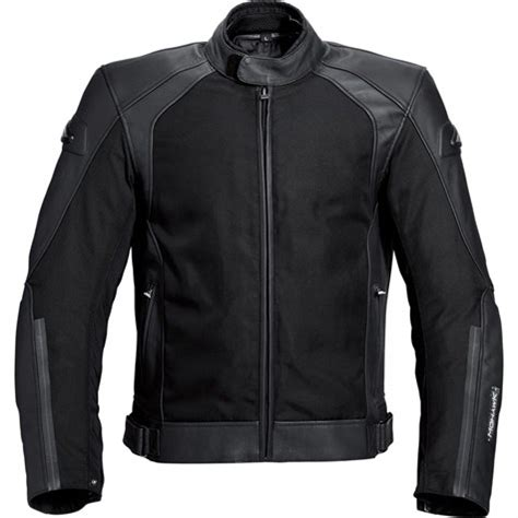 mohawk touring leathertextile jacket