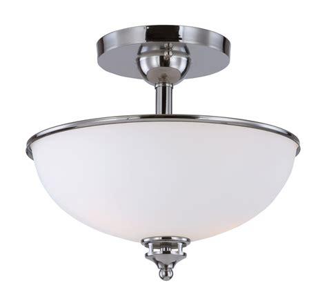 flush mount lighting novus 2 light semi flush mount
