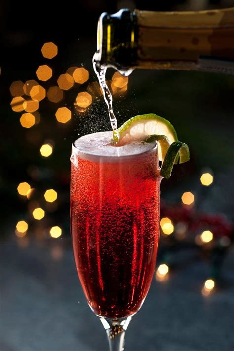 christmas drink christmas spritz recipe