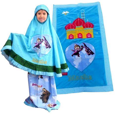 Limited Mukena Anak Liittle Ponny Biru M mukena anak lucu toko bunda