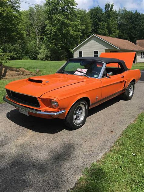 Ford Mustang 5 0 For Sale by 1967 Ford Mustang Convertible 3spd Automatic 5 0 For Sale
