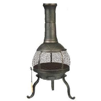 Chiminea Cap by Sonora Cast Iron Wood Burning Chimenea Without Cap