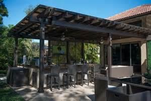 Patio Design Miami Fl Outdoor Kitchen And Pergola Project In South Florida