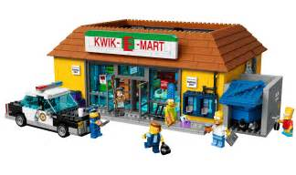 lego simpsons haus lego simpsons kwik e mart set joins minifigures series 2