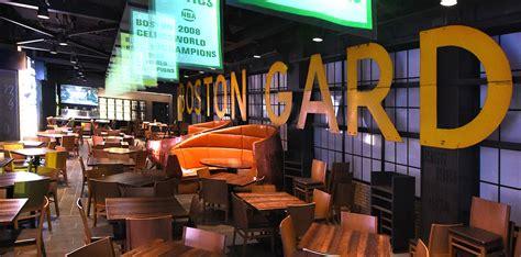 Restaurants Near Boston Garden by Restaurants Td Garden Legends At Td Garden Food Beverage Renovation Fit Out Legends At Td