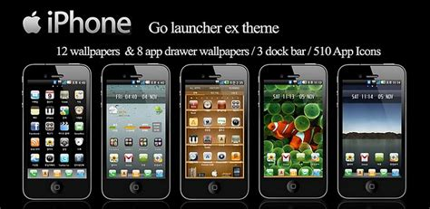 i phone theme apk iphone go launcher theme v6 1 apk for android os xp on