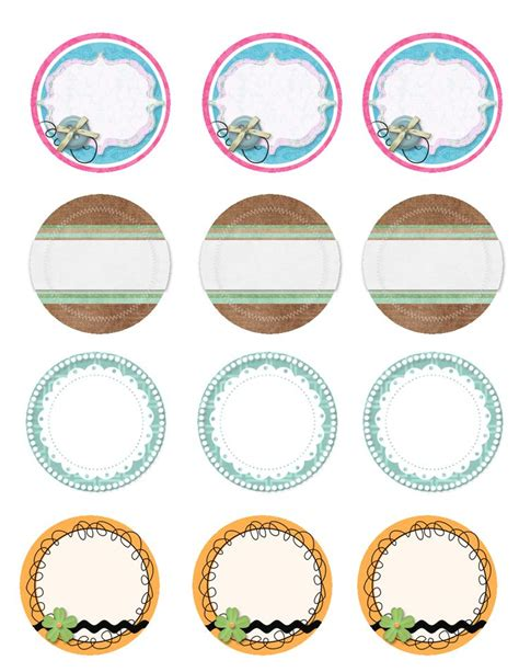 jar tags template 121 best jar lid labels images on