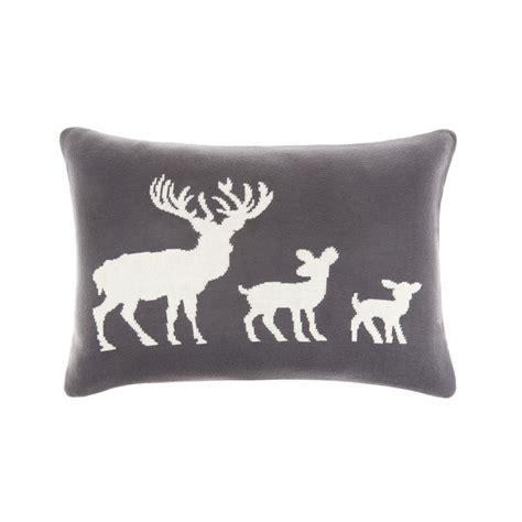 cuscini maglia cuscino maglia di cotone renne coincasa