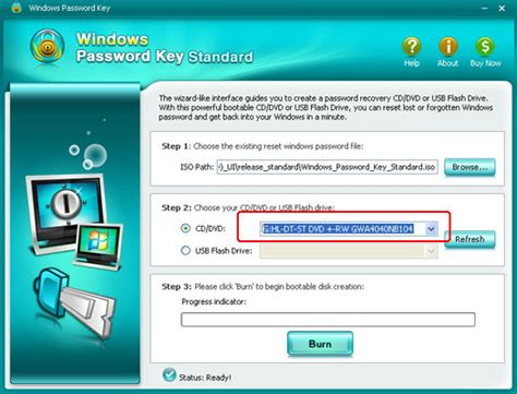 reset admin password on vista windows password key standard easiest and quickest way to
