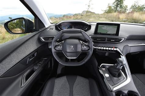 peugeot 3008 2016 interior peugeot 3008 suv 2016 review pictures auto express