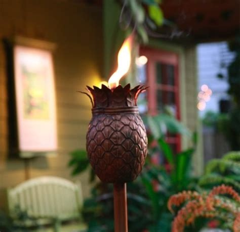 Ideas For Pineapple Outdoor Lights Design Tiki Torch Lights And Outdoor Ls Garden Gear